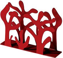 Mediterraneo Napkin holder by Alessi Red