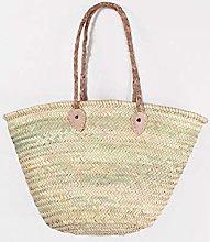 Medium Moroccan Market Shopping Basket - Short
