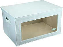 MEE'LIFE Storage Boxes With Window, Storage