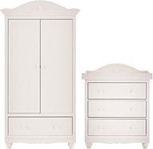 Mee-Go Epernay Wardrobe & Dresser - White