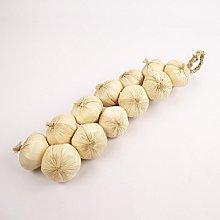 Meena Supplies 50cm Long Dozen 12x Hanging Onion