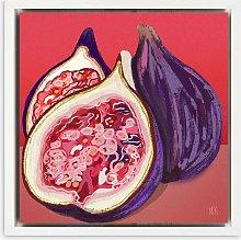 Meera Knowles - 'Fig' Framed Canvas Print,