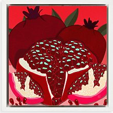 Meera Knowles - 'Pomegranate' Framed