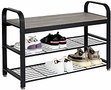Meerveil Retro Shoe Bench with armrests,