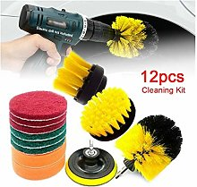 Meet's shop Car Wash Car Drill Brushes Set