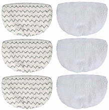 MEETOZ 6pcs Bissell Mop Pads Replacement for