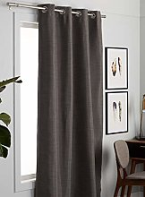 Megachest faux silk dimout/thermal curtain with 8