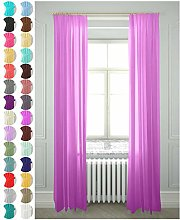 Megachest lucy Woven Voile gathering tape Curtain