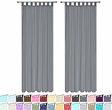 Megachest lucy Woven Voile Tab Top Curtain 2