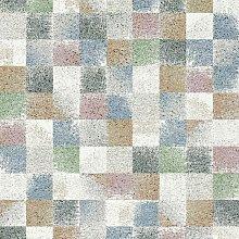 Mehari Pastel Squares 160x230cm Large Rug Carpet