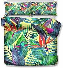 Meiju Duvet Cover Set Bedding Pillowcases Set,