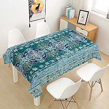 Meiju Table Cloths Rectangular Waterproof,