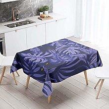 Meiju Table Cloths Rectangular Waterproof, Color