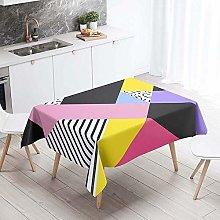 Meiju Table Cloths Rectangular Waterproof, Home