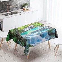 Meiju Tablecloths Rectangular Wipe Clean, Natural