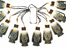 MEILILI Ramadan Eid Mubarak LED Atmosphere String