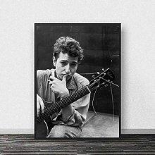 meilishop Bob Dylan Smoking Poster Music Pop