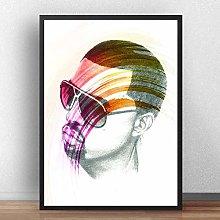 meilishop Kanye West Music Singer Rapper Poster