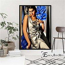 meilishop Print On Canvas Tamara De Lempicka