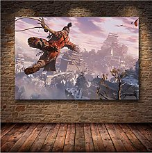 meilishop Print On Canvas Unframed Painting The