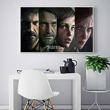 meilishop The Last Of Us Game Poster Print Wall