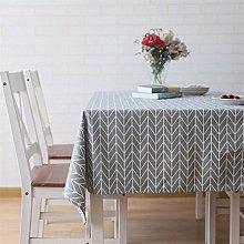 meioro Table Cloth, Rectangular Tablecloth, Cotton