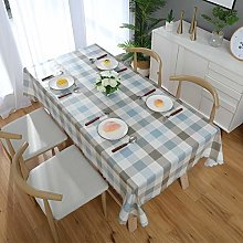 meioro Tablecloths Waterproof Table Cover,