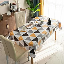 meioro Waterproof Tablecloths Wipe Clean PVC Table