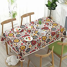 Meiosuns Tablecloths Rectangular Tablecloth Linen