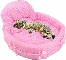 MEISISLEY Puppy Bed Lace Cat Bed Luxury Dog Bed