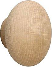 Meister Furniture Knob–Natural Beech, 130031