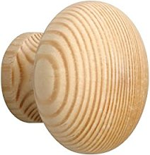Meister Furniture Knob – Natural Pine, 130391