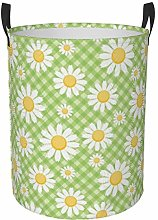 Meiya-Design Collapsible Round Storage Bin,Daisy
