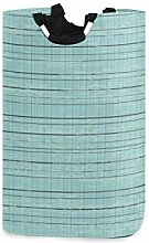 Meiya-Design Large Laundry Basket Duck Egg Blue