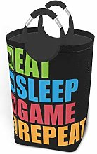 Meiya-Design Laundry Hamper Storage Bin Gaming Eat