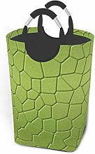 Meiya-Design Laundry Hamper Storage Bin Green Dino