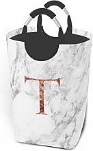 Meiya-Design Laundry Hamper Storage Bin Monogram