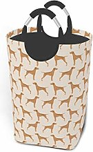 Meiya-Design Laundry Hamper Storage Bin Vizsla Dog