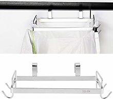 Meiyya Rubbish Bag Rack, Portable Cabinet Door