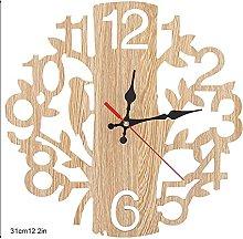 Meiyya Wall Colok, Bar Clock Clock Rustic Clock