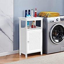 MeJa Bathroom Cabinet Free Standing, Floor Cabinet