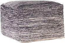 Mekhi Pouffe Isabelline Upholstery Colour: Black