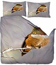 MEKVF Bedding Double Bed Duvet Cover 200x200cm