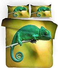 MEKVF Duvet Cover Bedding Set 200X200Cm Animal