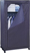 Melancon 75cm Wide Fabric Wardrobe Rebrilliant