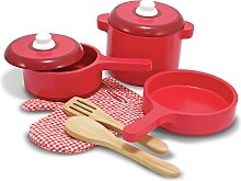 Melissa & Doug Wooden Kitchen Accessory Set