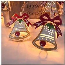 Meliya 10 LED Painted Christmas Fairy Lights