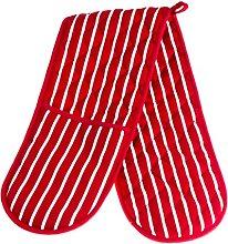 Mellcrest Oven Glove/Butchers Stripe Double Oven