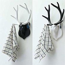 MELLRO Free Standing Hall TreeVintage Deer Antler