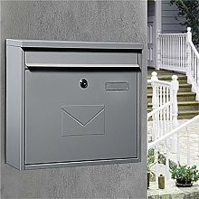 MELLRO Post Boxes Heavy Duty Secured Storage Wall